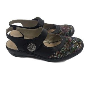 REMONTE by Reiker Women's Slide on Leather Shoes